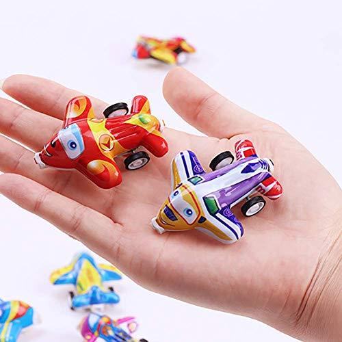 Vektenxi 5 Stücke Mini Zurückziehen Flugzeug Kleine Simulation Modell Kinder Kinder Spielen Spielzeug Zufällige Farbe Zufällige Stil Hohe Qualität