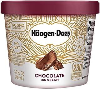 Haagen Dazs, Chocolate Ice Cream, 3.6 Oz. Cup, (12 Count)