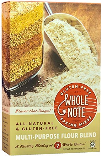 Whole Note Multi-Purpose Flour Blend, 7-Whole-Grain and Naturally Gluten-Free (Pack of 3)