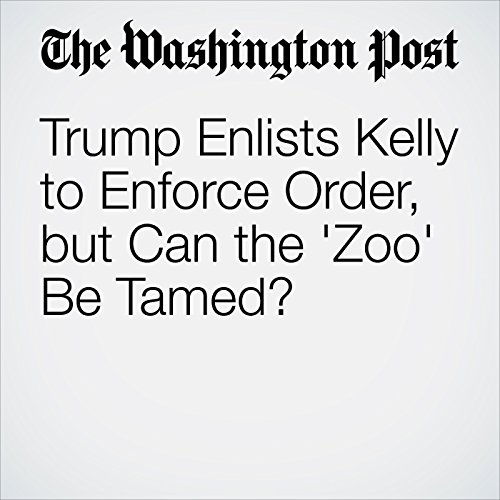 Trump Enlists Kelly to Enforce Order, but Can the 'Zoo' Be Tamed? copertina