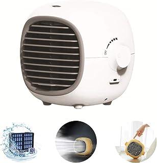 POWM Aire Acondicionado Refrigerador Ventilador PortáTil De RefrigeracióN por Agua De Escritorio Deflector De Enfriado Atomizado Reabastecimiento Y HumidificacióN
