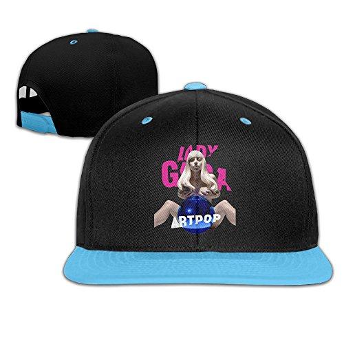 Be Yons Little Boys' Baseball Caps Lady Gaga Logo Adjustable Wholesale Snapback RoyalBlue