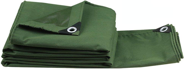GLP Antigel imperméable extérieur imperméable de Prougeection Solaire de wrapable, Camion, Bateau, Camping, Toit ou Piscine bache de Soleil (0.7mm500g   M2) Disponible dans Une variété de Tailles Vert