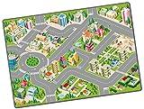 STARLUX – Tapis de Jeu Petites Voitures pour enfant – Circuit de ville – 120 x 80 cm – Gamme CITY – 801129