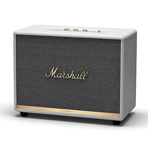 Marshall Woburn II Bluetooth 130 W Altavoz portátil estéreo Blanco - Altavoces portátiles (2.0 canales, 130 W, 30 - 20000 Hz, 110 dB, Inalámbrico y alámbrico, Altavoz portátil estéreo)