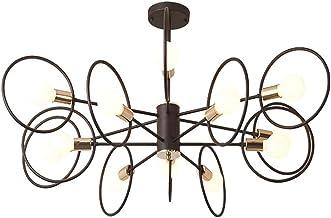 N/Z Home Equipment Ceiling Pendant Chandelier 8-Light Lighting Fixture for Kitchen Corridor Bathroom E27 lamp Holder (Does...