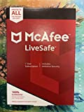 McAfee LiveSafe, for PC, Apple Mac, iOS, or Android, Unlimited Devices, 1-Year Subscription, eCard