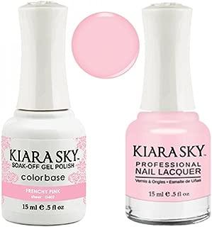 Kiara Sky Matching Gel Polish + Nail Lacquer, Frenchy Pink, .5 fl. oz