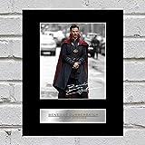 Foto-Display von Benedict Cumberbatch als Doctor Strange,