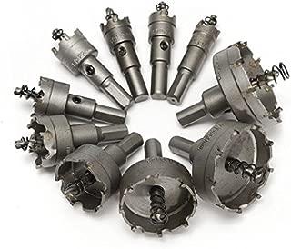 New 10pcs 16-53mm TCT Carbide Alloy Hole Saw Cutter Set Drill Bit corn hole saw blade 5.13 2.16 nmo diablo kit 1.4mm drill bits