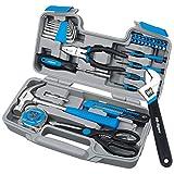 Pink Lady-Werkzeug-Set Haushalt repari Hand Tool Kit Geschenk DIY Werkzeuge für Frauen Lady Gril Wit Plastic Toolbox 40PC DT9710B
