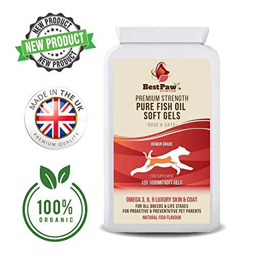 Best Paw Nutrition - Omega 3 6 9 cápsulas de Aceite de...