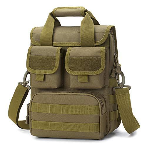 Rosepoem Satchel Handbag Shoulder Bags Shoulder Backpack Unilateral Shoulder Bag Bank Card Mobile Phone Luggage Bags 20L 600D Oxford