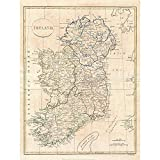 Wee Blue Coo 1799 Clement CRUTTWELL MAP Ireland Vintage