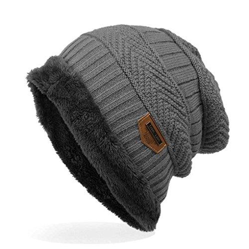 Republe - Gorro de lana de terciopelo, para exterior de invierno
