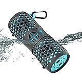 Tingda Bluetooth Box wasserdicht, Tragbare Bluetooth Lautsprecher IPX7 Wasserfest WLAN Mobiler Musikbox, AUX-Anschluß, Freisprechanlage, 12 Watt with bass, für Outdoor, dusche, Fahrrad, Smartphone