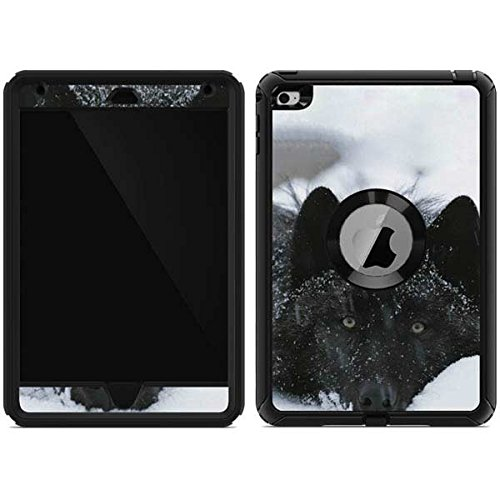 Skinit Decal Skin for OtterBox Defender iPad Mini 4 - Originally Designed Gray Wolf Resting in Deep Snow Design