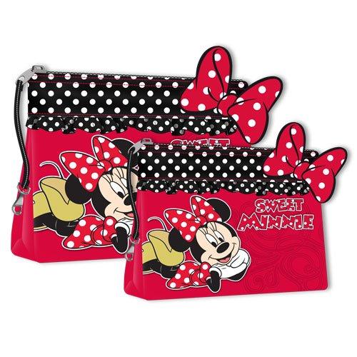 Disney Set 2 Trousses de Toilette Minnie Mouse Polka