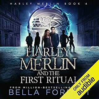 Harley Merlin and the First Ritual cover art