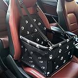 para mascota, transpirable, impermeable, para coches, viajes, bolsa de transporte, funda protectora de asiento con correa de seguridad para perros pequeños, gatos