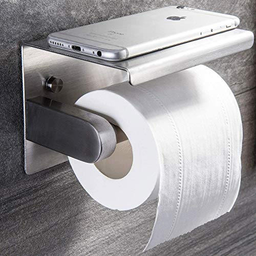 Top 10 best selling list for giagni stainless steel wall mount single post toilet paper holder