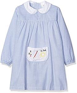 Alber Baby Colegial, Babi de colegio para Bebés, Azul (Celeste), 36 Meses (98)