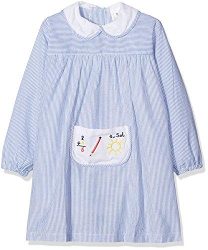 Alber Baby Colegial, Babi de colegio para Bebés, Azul (Celeste), 12 Meses (80)
