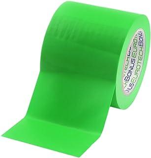 Durable /& Durable 50mm x 33m Priory Direct Ruban de Marquage de Sol en Vinyle Vert Lot de 6