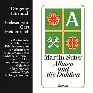 Allmen und die Dahlien audiobook cover art
