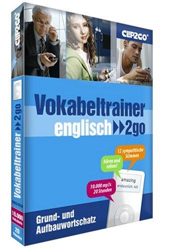Preisvergleich Produktbild Vokabeltrainer 2go für den iPod - Englisch Grund + Aufbauwortschatz