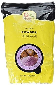 Qbubble Taro Flavor  3 in 1  Bubble Tea Powder - 2.2 Lb