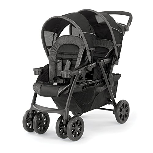 Great Features Of Chicco Cortina Together Double Stroller - Meridian, Brown