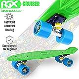 Zoom IMG-1 wellife skateboard mini cruiser rgx