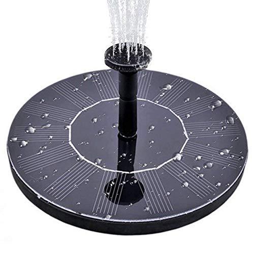 Gocheer 1.4W Solar Springbrunnen Solar Teichpumpe Schwimmende Solar Brunnen, Solare Wasserpumpe für Garten, Vorgarten, Vogel, Bad, Teich, Wasser Kreis