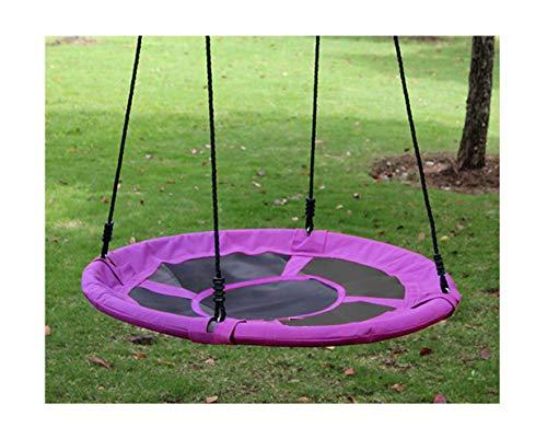Izzy Nestschaukel 110 cm Garten-Schaukel 150 kg (4. Ø 110cm / 150kg / pink) Mehrkindschaukel