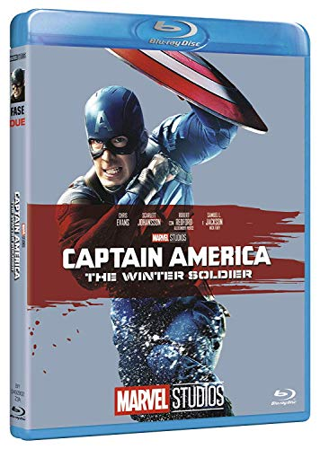 Captain America - The Winter Soldier (Edizione Marvel Studios 10 Anniversario) [Italia] [Blu-ray]