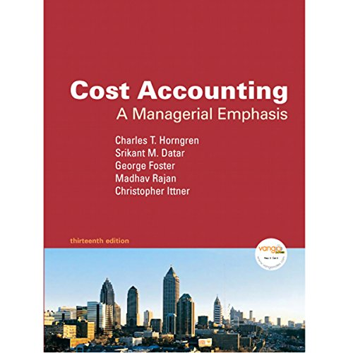 VangoNotes for Cost Accounting, 13/e audiobook cover art