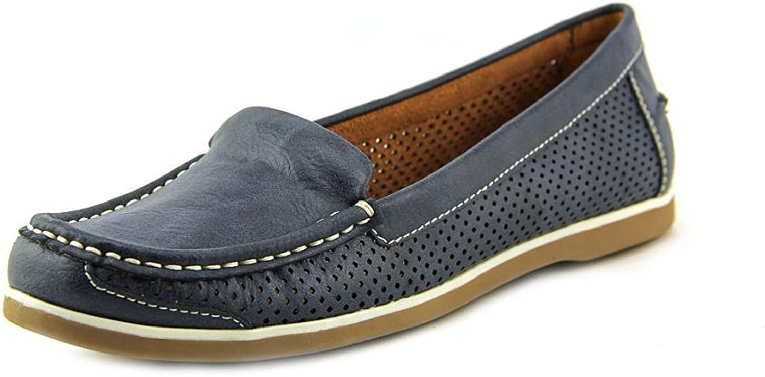 Naturalizer Women's Henrick Comfort shoes Round Toe Loafer Navy