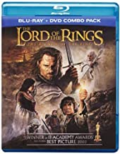 The Lord of the Rings the Return of the King Blu-Ray DVD Combo Pack