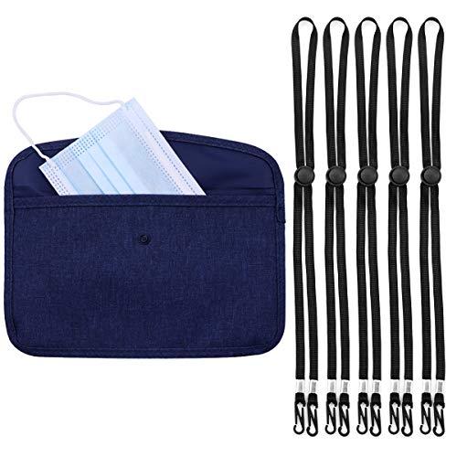 Ytesky Masken Aufbewahrungsbox,Masken Etui,Aufbewahrungsbox Stoff,Staubmasken-Aufbewahrungsbox zur Vermeidung von Maskenverschmutzung