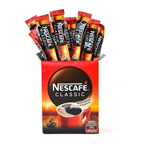 PZ 240 CAFFE' IN BUSTINA SOLUBILE NESCAFE' CLASSIC MONO PORZIONE INSTANT COFFEE CAFFE ISTANTANEO LIOFILIZZATO