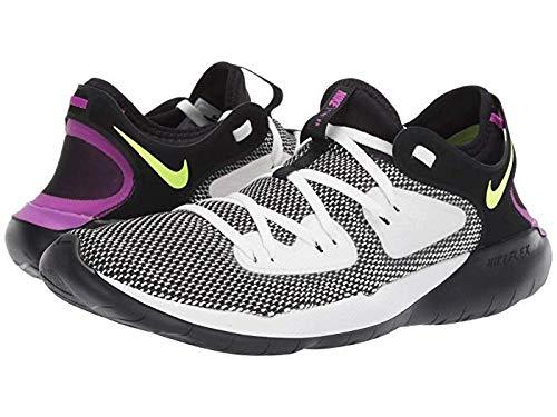Nike Men's Flex RN 2019 Running Shoe (Football Grey/Black/Blue Hero, 10)