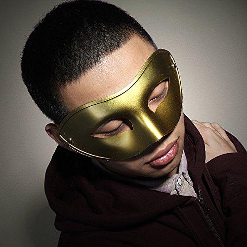 Bazaar Maskerbal voor heren, halfmasker, Venetiaanse stijl