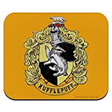 Harry Potter Hufflepuff Painted Crest Low Profile Thin Mouse Pad Mousepad