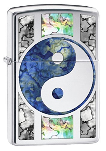 Zippo 78237 Feuerzeug Fusion Yin und Yang - Hochglanzchrom