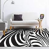 Pgron Alfombra Salón Estudio de Cebra Dormitorio Dormitorio sofá Alfombra Alfombra Estera cabecera Cama Mantas Guay,200×300cm