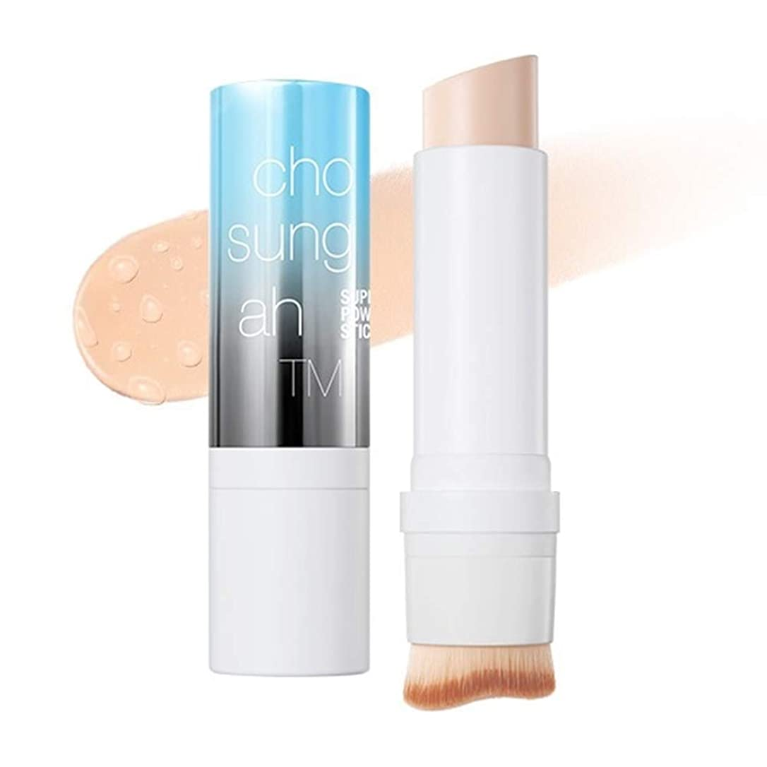 野菜オーガニック休日Chosungah TM Super Fit Stick Foundation 01 Light Beige SPF50+/PA++++ 12g