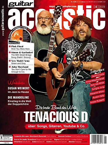 Tenacious D - AnnenMayKantereit - Interview - Akustikgitarre Workshop - Susan Weinert - Akustikgitarre Playalong Pink Floyd in der guitar acoustic