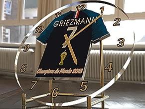 /Legends Edition DE Football de Football Horloge de Bureau Conception de Base. FanPlastic Diego Maradona 10/SSC Napoli/