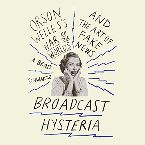 Broadcast Hysteria audiobook cover art